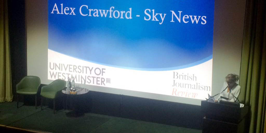 Sky's Crawford receives Charles Wheeler Award