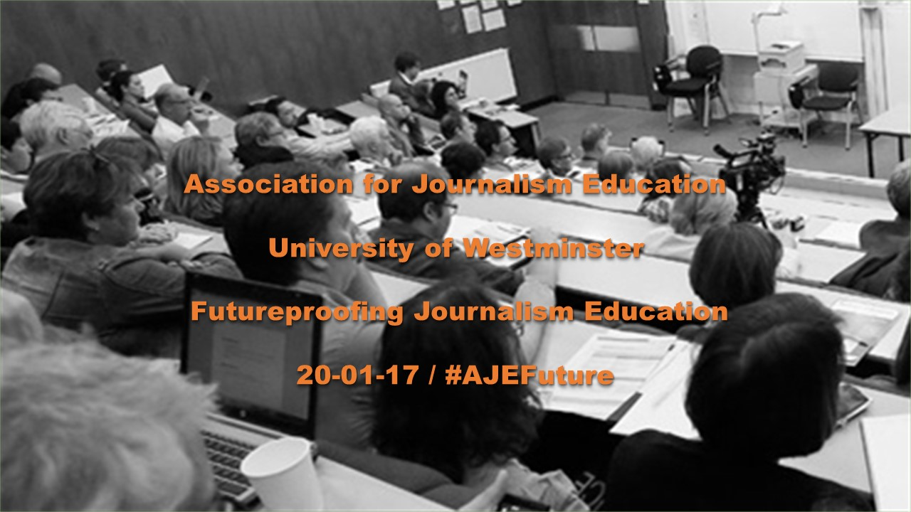 AJE Winter Conference 2017: See our speakers' slides