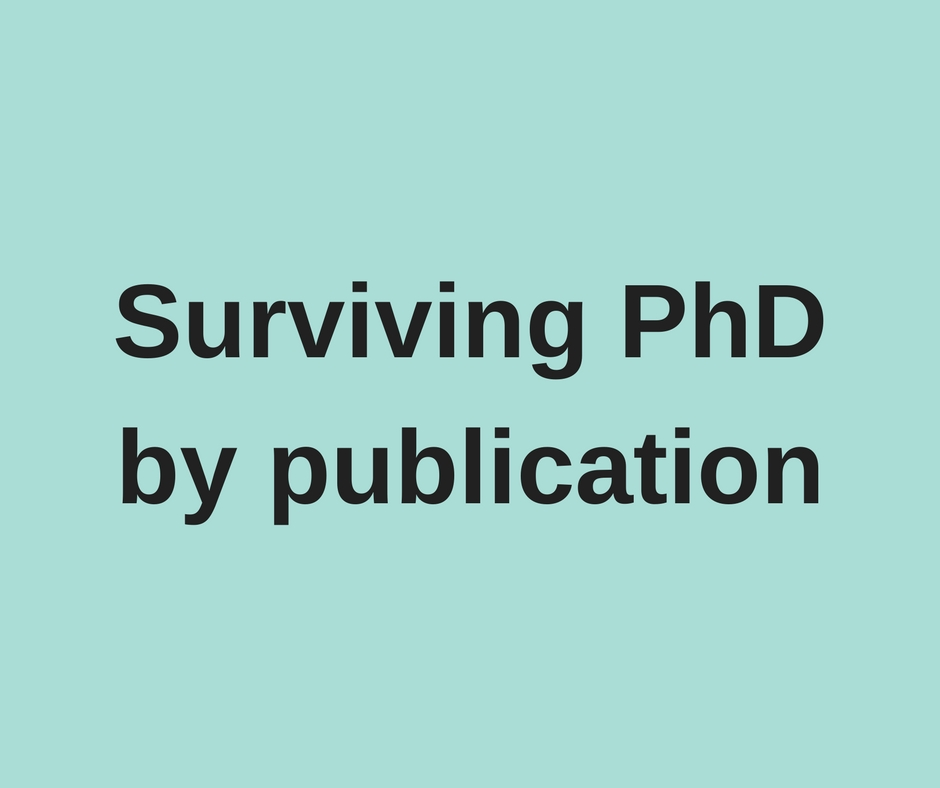 Guest blog: Credit where credit is due, making the case for PhD by publication by Dr Alison Baverstock and Dr Debora Wenger