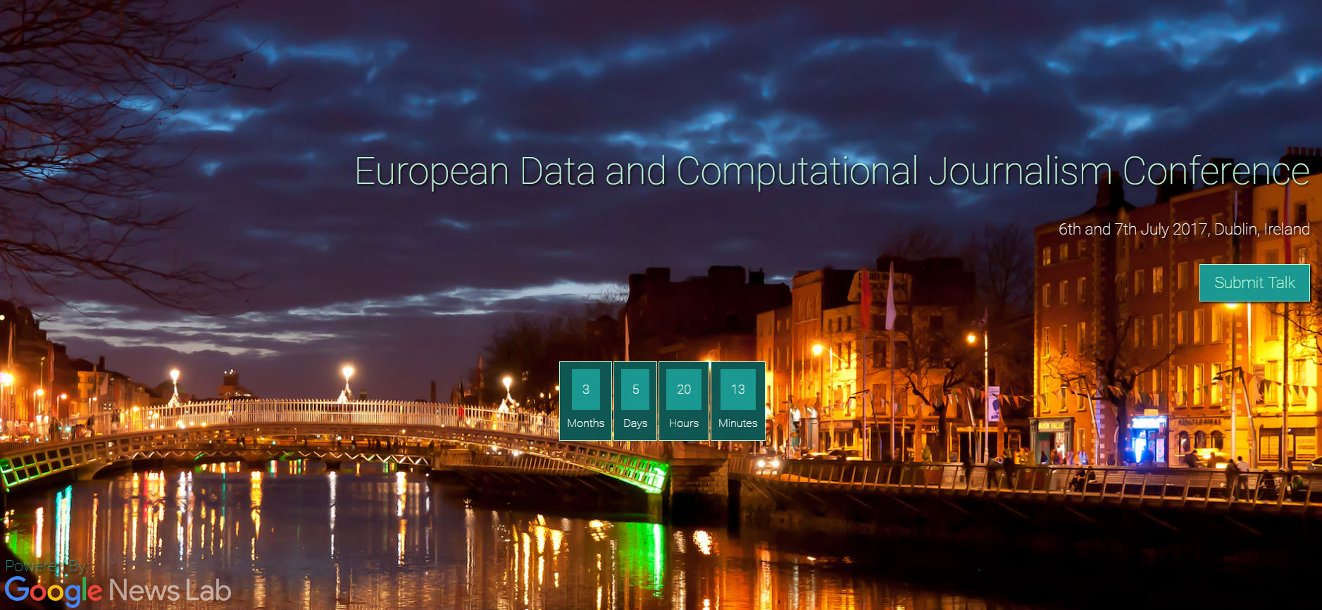 Call for papers: European Data and Computational Journalism Conference, Dublin, July 6-7
